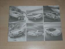 65763) Chrysler PT Cruiser Crossfire Voyager - Preise & Extras - Prospekt 08/200
