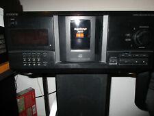 SONY CDP-CX230 200fach CD Player Wechsler Megastorage , mit Fernbedienung