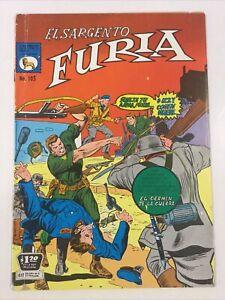 1971 SPANISH COMICS EL SARGENTO FURIA #105 SGT NICK FURY LA PRENSA MEXICO