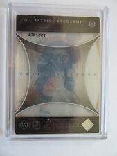 2005-06 UD Trilogy Frozen In Time Patrice Bergeon #133 SP 155/599 Sealed Plexi