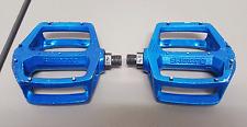 Vintage 1980s Blue SHIMANO DX 9/16 Old School BMX Racing Pedals 401 SE GT OM PK