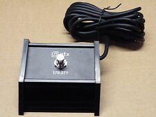 QTX Music Latching Foot Pedal Switch Guitar Keyboard Effects Group etc 170.271