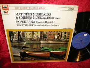 1964 UK NM SXLP 20090 STEREO BRITTEN MATINEES, SOIREES MUSICALES RESPIGHI ROSSIN