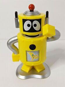 """Yo Gabba Gabba PLEX Action Figure 6 1/2"""" w/ slot machine arm handle 2009"""