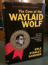 Erle Stanley Gardner CASE OF THE WAYLAID WOLF ~ Perry Mason Mystery 1959