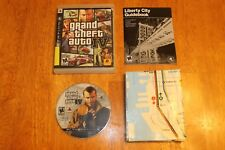 Grand Theft Auto IV GTA 4 (Sony PlayStation 3) Complete w/ Map FAST FREE SHIPPIN