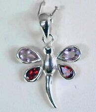Amethyst Not Enhanced Sterling Silver Fine Necklaces & Pendants