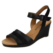 eb04f1f9c7ce Women s Clarks Lafley Aletha Strap Sandals in Black UK 6   EU 39 ...