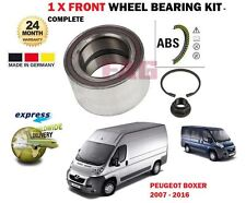 FOR PEUGEOT BOXER BUS + VAN 2.2 3.0 HDi 2007-> NEW 1X FRONT ABS WHEEL BEARING