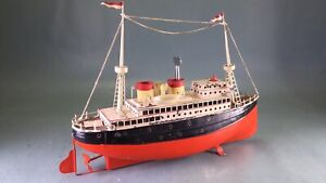 Fleischmann Schiffe 520/33 in original Zustand kein Marklin carette Bing