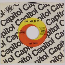 THE SHAG: Stop and Listen US Capitol '67 Garage Rock 45 HEAR