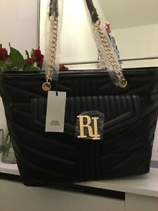 Large Black River Island bag brand new with attached tags