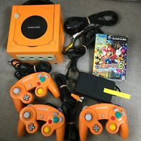Nintendo GameCube Spice Orange Console with Controller set (NTSC-J)913