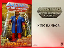 KING RANDOR ETERNOS + EXTENDAR Masters of the Universe Classics MOTU Figures Lot