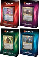 MTG Magic the Gathering Commander 2018 Deck SET of 4 Decks SEALED IN HAND!!