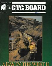 CTC Board #135 Sept.1986 A Day In The West Amtrak Rio Grande Santa Fe SP UP