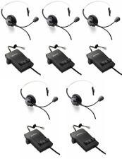Plantronics H51N Supra Headsets M12 Amplifiers PL-H51N PL-M12 Qty 5