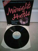 """Midnight Hustle Vinyl 12"""" LP NE 1037 UK 1978"""