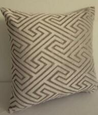 Pale Grey + Charcoal Softest Velvet Cushion Cover 45cm