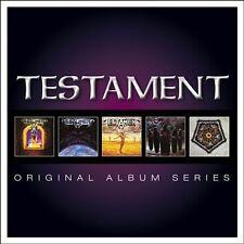 Original Album Series [Slipcase] by Testament (CD, Sep-2013, 5 Discs, Warner Bros.)