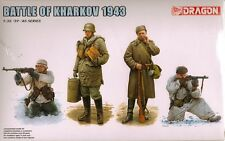 "1/35 Dragon 6782  ""Battle of Kharkov 1943"" (4 Figures Set) 2 German-2 Russian"
