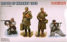 "1/35 Dragon 6782  ""Battle of Kharkov 1943"" (4 Figures Set) 2 German-2 Russian"