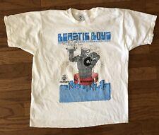 BEASTIE BOYS Veg T-Shirt HELLO NASTY Tour 90s concert w/ Asian Dub Foundation