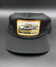 Vintage Lake Speed #75 Nationwise Racing Team Mesh Trucker Hat NASCAR Cap Black