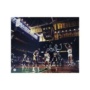 Larry Bird Autographed Boston Celtics 16x20 Photo - JSA COA