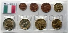Italy 8 euro coins set 2010 (#2324)