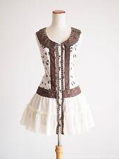 axes femme Princess Cinderella pattern OP Dress Victorian Lolita Kawaii Japan