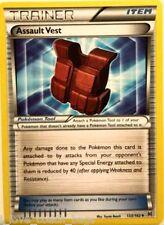 Assault Vest 133/162  X 3 XY BreakThrough MINT Uncommon Pokemon TRAINER