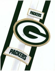 Packers Football Helmet Decals Free Shipping