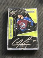 2019-20 UPPER DECK ENGRAINED CALE MAKAR ROOKIE SYNTHESIS AUTOGRAPH AUTO #SA-MA