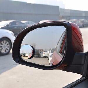 2pcs Set Car Rear View Mirror 360 Degree Rotating Wide Angle Blind Spot Mirror