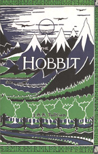 J.R.R. TOLKIEN THE HOBBIT OR THERE BACK AGAIN UK IMPORT 1978 HCDJ 4TH NEW RARE