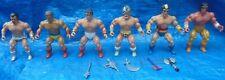 1982 Remco Action Figure Lot All 6 Warlord Arak Hercules Machiste Mikola Deimos