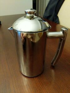 Frieling #2 Double Walled Creamer Pitcher with Lid