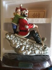 1990 Emmett Kelly Spirit of Christmas Viii Porcelain Figurine Limited 1548/3500