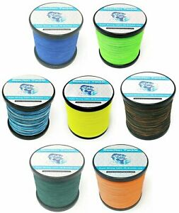 Reaction Tackle Braided Fishing Line- Various Sizes and Colors
