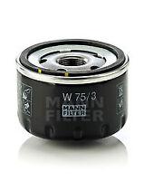 Mann & Hummel Oil Filter W 75/3 - BRAND NEW - GENUINE - 5 YEAR WARRANTY
