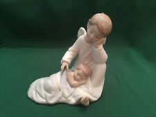 Lladro My Guardian Angel 06961 Blue With Box And Signed in 2010