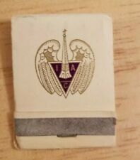Vintage Matchbook Indianapolis Athletic Club Lion Match Club Indiana Collectible