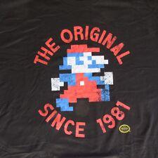 8 Bit Mario XXL T-Shirt The Original Since 1981 All Cotton Nintendo Licensed