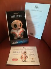 STAR WARS BB8 COMPARE THE MARKET MEERKAT TOY BNIB EAR TAG CERTIFICATE + LETTER