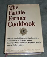 THE FANNIE FARMER COOKBOOK     1965 HC/DJ ~ 11th Edition 1st Printing + Cover