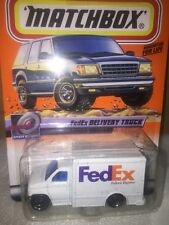 Mattel Matchbox 1999-23/100 Series 5 FedEx Speedy Delivery Ford Box Van 1:64 NIP