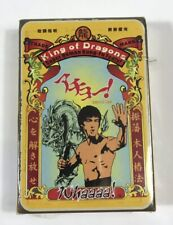 Bruce Lee Playing Cards Taiwan Martial Arts NEW And SEALED 2015