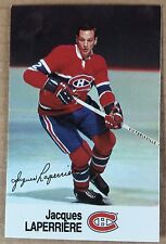 1988-89 JACQUES LAPERRIERE ESSO MINI STICKER CARD MONTREAL CANADIENS