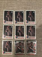 Nassir Little 14 card investor lot 2019-20 RC Rookie Trail Blazers. Optic Prizm